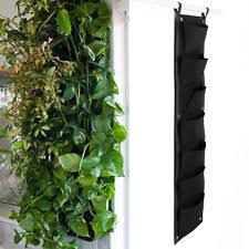 Wall Garden Planter by 7 Pocket Hanging Vertical Garden Planter For Walls Outdoor Indoor