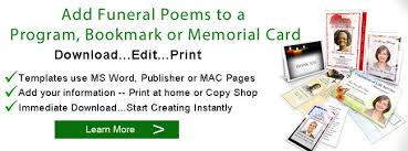 memorial poems for funeral poems memorial poem poems for funeral programs
