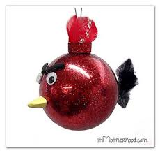 angry birds an ornament for the