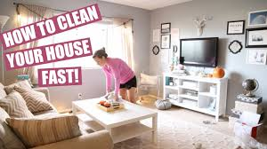 clean house how to clean your house fast clean with me hayley paige youtube