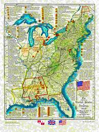 Louisiana Territory Map by Us Historical Series
