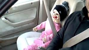 spirit halloween tacoma driver cited for using u0027zombie baby u0027 as hov passenger abc13 com