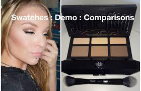 kat von d shade and light vault 1st impression demo kat von d shade light contour palette and