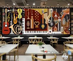3d music instruments volin wall mural paper art print decals decor 3d music instruments volin wall mural paper art print decals decor idcwp ty 000019