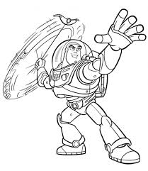 coloring surprising buzz coloring pages printable lightyear