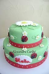 Ladybug Themed Baby Shower Cakes - 44 best baby shower cakes images on pinterest ladybug cakes