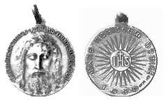 Chaplet Of The Holy Face The Holy Face Medal Chaplet U2013 Illumina Domine Blog U2013 Devotion To