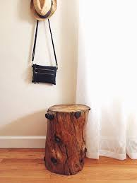 Tree Stump Nightstand Diy Tree Stump Table U2013 Megan U0027s Moments