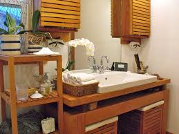 Portable Medicine Cabinet Basket Design Ideas Bathroom Rustic With Wood Countertops Vessel