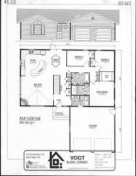 Floor Plans For 1500 Sq Ft Homes Building Plans Vogt Building Construction Quality Custom Homes