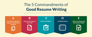 first resume builder how to write a resume the ultimate resume writing guide 5 most important things to remember about writing a resume