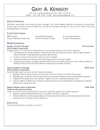 Project Manager Resume Examples u0026 project manager resume