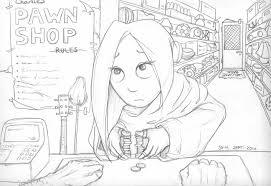 pawn shop return sketch by cado on deviantart