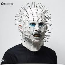 smeared mask spirit halloween aliexpress com buy movie saw chainsaw massacre jigsaw puppet