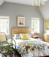 Rocking Bed Frame by Floral Comfoter With Green Rocking Chairs For Superb Guest Bedroom