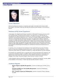 resume objectives exles generalizations career objectives for resumes good resume templ myenvoc