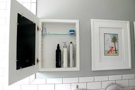 diy recessed medicine cabinet fabulous recessed medicine cabinet diy m35 for your home decor