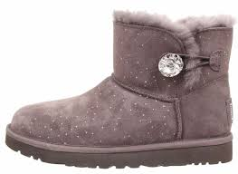 grey womens boots australia ugg australia womens mini bailey button bling constellation grey