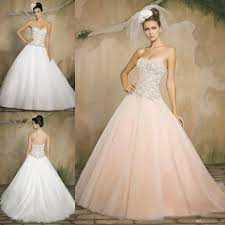 blush ball gown wedding dresses 19 with blush ball gown wedding
