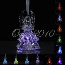 veilleuse chambre 7 couleur led ange cristal lumineuse veilleuse le déco chambre