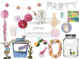 Summer Party Decorations The Best Summer Garden Party Decorations From Tassel Garlands