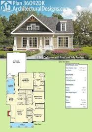 Bungalow House Plans With Porches by Plan 50113ph Bungalow House Plan With Flexible Kitchen Bungalow