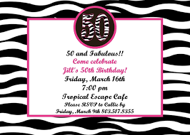 50th birthday party invitation wording stephenanuno com