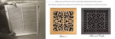 Decorative Wall Return Air Grille Wall Decor Decorative Wall Registers Ideas Heater Vent Covers