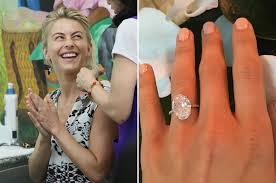 julianne hough engagement ring julianne hough