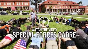 special forces cadre