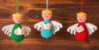 new crochet pattern choir of ornaments knits