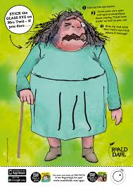 stick the glass eye on mrs twit if you dare a ghastly game for