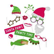 christmas photo booth props entertainment pet photo booth props christmas photo shoot