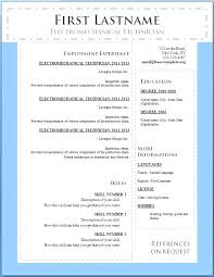 sample resume format download in ms word free word resume