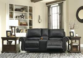 Leather Reclining Sofa With Console by Sofa Power Reclining Leather Sofa Cute Bryant Leather Power