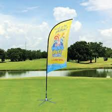 Standard Golf Flag Size Flying Banner Outdoor Banner Stands Outdoor Product