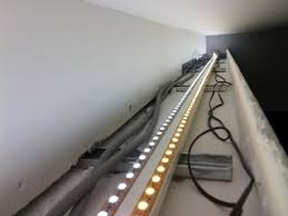 how to build cove lighting indirect lights in your false ceiling with led stripes contractorbhai