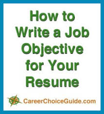 resume objectives writing tips resume objectives writing tips and sles
