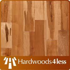 3 1 4 x 3 4 maple rustic grade with golden stain hardwood flooring