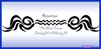 aquarius tattoo images u0026 designs