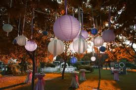 backyard lantern party lighting ideas house design and office