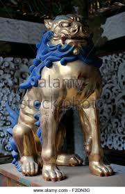 guard dog statue temple dog stock photos temple dog stock images