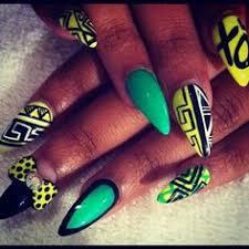 dope nail design nail art pop art inspiration nail frenzy