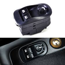 buy new peugeot 206 window power switch master electric mirror button fits peugeot 206