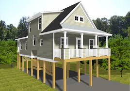Waterfront Cottage Plans by Waterfront House Plans On Stilts Arts
