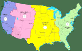 map of the state of usa usa time zones map map of usa states