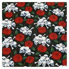 skulls roses bandana skulls bandanas