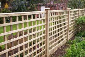 4 Ft Fence Panels With Trellis Roro Timber