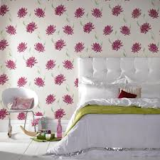 Interior Design With Flowers Adding Style With Patterned Wallpaper