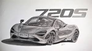 mclaren p1 drawing easy mclaren 720s p14 abhinand venugopal draw to drive